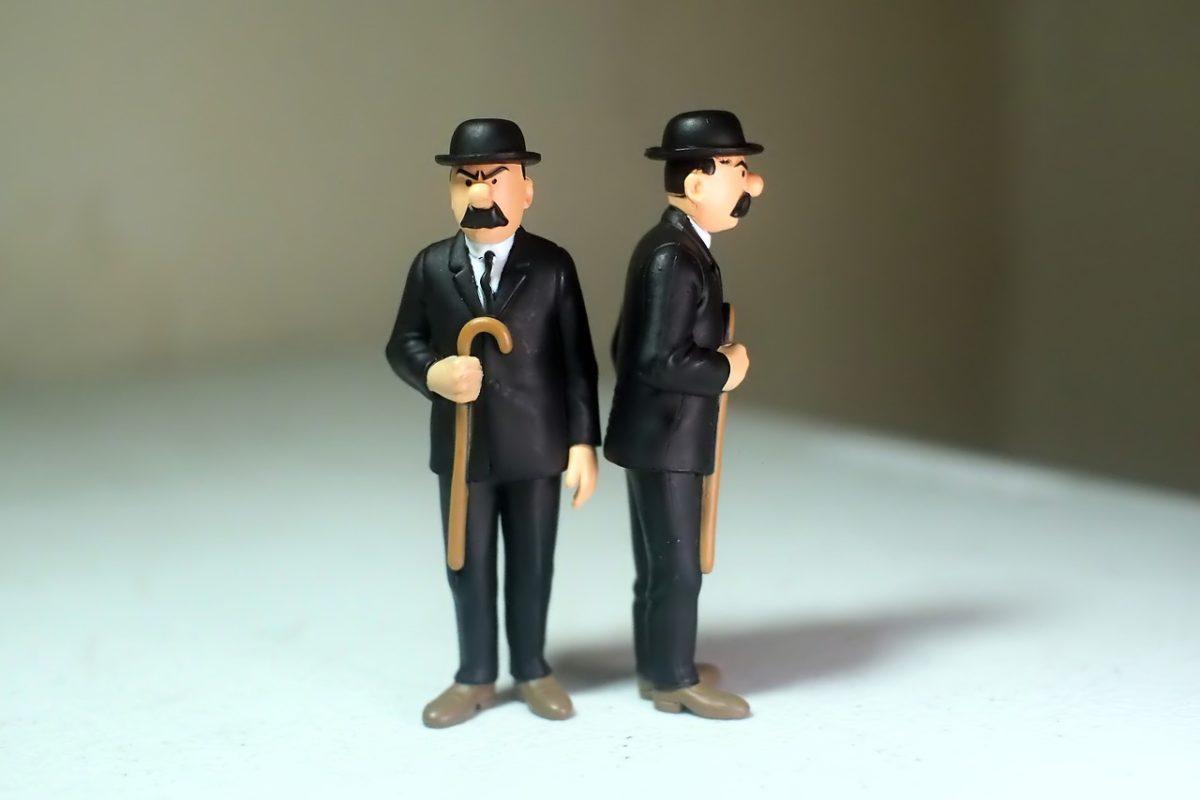 שני גברים